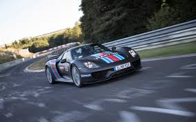 2014 porsche 918 spyder nurburgring record run 4