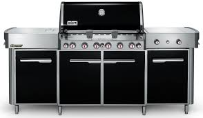 weber summit black lp gas grill center 291101 abt