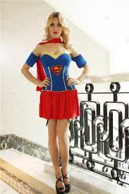 Supergirl Halloween Costumes Women Supergirl Costume Superhero Cosplay Halloween