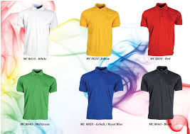 polo shirt singapore ready stock microfiber polo t shirt printing service color
