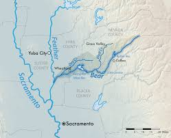 Map Of Colorado Rivers by Bear River Feather River Wikipedia