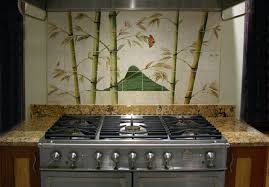 Kitchen Tile Backsplash Murals Mural Tiles For Kitchen Backsplash Quot Don S Cornucopia Quot