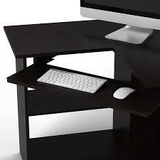 Morgan Corner Computer Desk by Amazon Com Essential Home Corner Computer Desk Espresso