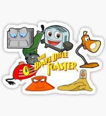 Brave Little Toaster Radio Brave Little Toaster Stickers Redbubble