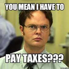 Income Tax Meme - do i pay tax on uk airbnb income