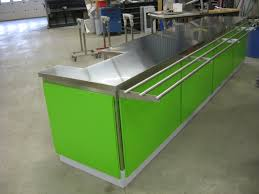 how to take care of stainless steel kitchen table by using the
