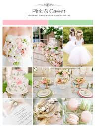 pink and green inspiration board color palette mood board