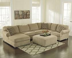 Chenille Reclining Sofa Mocha Chenille Sectional With Chaise At Menards Titan Reclining