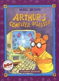 arthur s thanksgiving book arthur s computer disaster an arthur book by marc brown