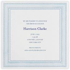 birth announcements online at paperless post