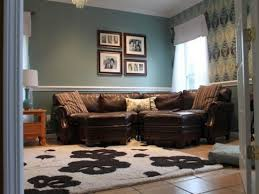 living room color schemes with brown furniture microfiber