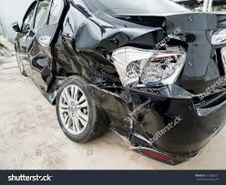 wrecked car drawing car crash accident damaged background stock photo 517408471