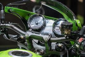 kawasaki launch a lime green café racing z900rs machine u2013 motofire