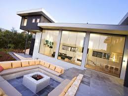 Outdoor Livingroom Modern Luxury Outdoor Living Room Design Ideas With White Sunken