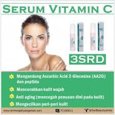 Serum Vitamin C Wajah serum wajah yang bagus dan murah serum vitamin c 3srd 3srd