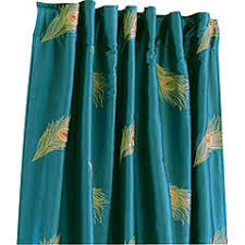 Peacock Curtains 36 Panel I Bought These I Like Them Mostly They Re A