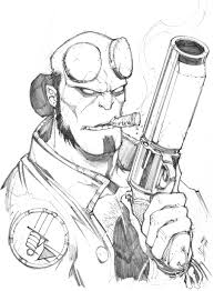 hellboy coloring pages hellboy by max dunbar on deviantart