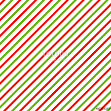 christmas background with green red and white diagonal stripes