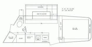 dixie star 10 u0027 living quarters 2 horse trailer