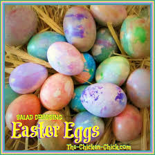the chicken salad dressing easter eggs simple marbled beauty