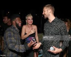 calvin harris and emil nava mtv vma post party with tidal x sprint