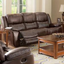 Dual Reclining Sofa Casual Dual Recliner Sofa With Bustled Seat Back Walker S