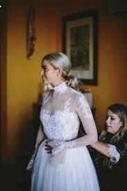 Coast Wedding Dress This 40 Person Amalfi Coast Wedding At Fattoria Marecocolla Was