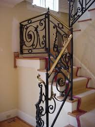 Iron Grill Design For Stairs Best Iron Stair Railing Ideas Stair Grill Design 23 Stairs