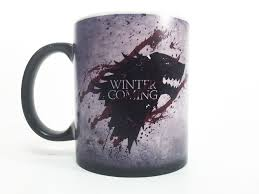 Color Changing Mugs Plush Magic Color Changing Mug Winter Is Coming Original Magic