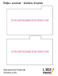 create your own planner template how to make planner dividers for your filofax or kikki k free lots of free printable stickers and inserts for your planner to download