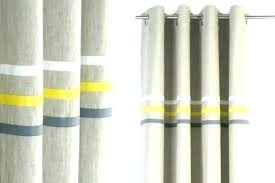 Yellow And Grey Curtain Panels Grey Curtains For Bedroom Metallic Curtain Panels Grey Velvet