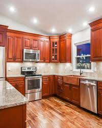 kitchen cabinets pic charleston cherry kitchen cabinets rta cherry cabinets from lily