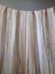 wedding backdrop burlap burlap curtains ribbon lace curtain rustic garland boho