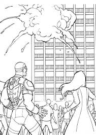 Kids N Fun Com 16 Coloring Pages Of Captain America Civil War Captain America Coloring Page