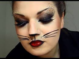 cat halloween makeup youtube