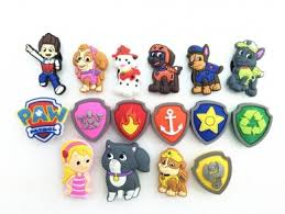16pcs paw patrol puppy power ryder katie fanfiction shoe charms