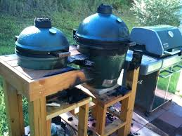Green Egg Table by How To Fire Proof A Wood Bge Table U2014 Big Green Egg Egghead Forum