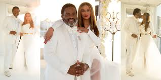 beyonce shares intimate family snaps from her mum u0027s wedding easy