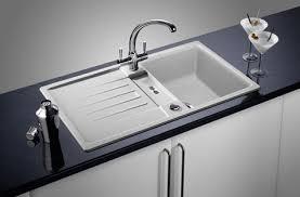 inset kitchen sink dream kitchens selection of inset under mount silgranite kitchen