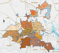 Harris County Zip Code Map by Where Are Houston U0027s Crime Spots
