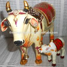 custom craft wish fulfilling kamdhenu cow for home decor buy