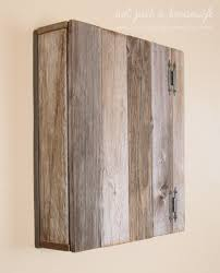 Barnwood Cabinet Doors by How To Build A Simple Cupboard Stacy Risenmay