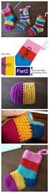 mini christmas stockings crochet pattern the whoot