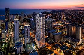 cmc group unveils curvaceous glass tower in miami