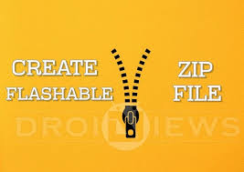 how to convert zip to apk how to create falashable zips for cwm twrp recovery