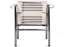 le corbusier lc1 sling u0027basculant u0027 chair replica brown
