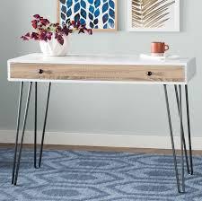 Registry Row Desk Mercury Row Bronstein Writing Desk U0026 Reviews Wayfair