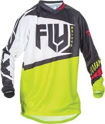 2017 Fly Racing F 16 Jersey Mx Atv Motocross Off Road Dirt Bike