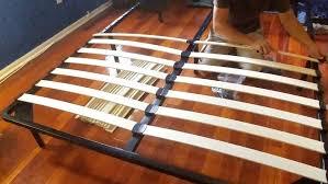 bed frames how to make bed slats stronger are platform beds bad