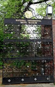 the national ornamental metal museum on the road with jim and
